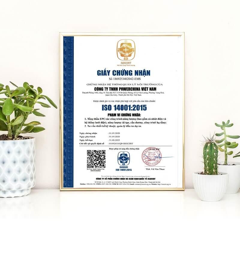Cấp chứng nhận ISO 14001 cho doanh nghiệp hiện nay