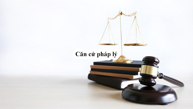 Căn cứ pháp lý giấy chứng nhận môi trường
