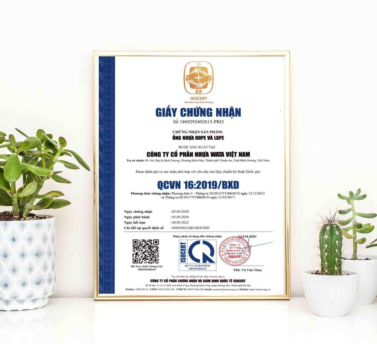 Tổ chức chứng nhận và giám định quốc tế ISOCERT